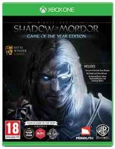 Middle-Earth: Shadow of Mordor Game of the Year Edition (Xbox One) NEW £7.49 online and in store @ Game