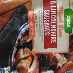 6 Meat Free Lincolnshire Sausages 38p @ ASDA