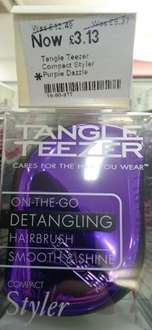 Tangle Teezer 75% off in Boots Islington - Now £3.13