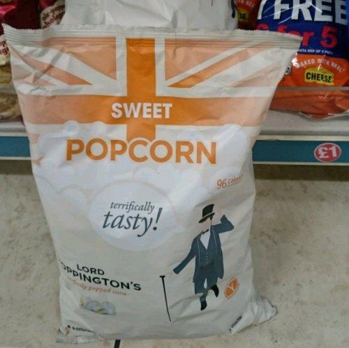 Lord Poppington's Popcorn 235g £1 @ Poundland