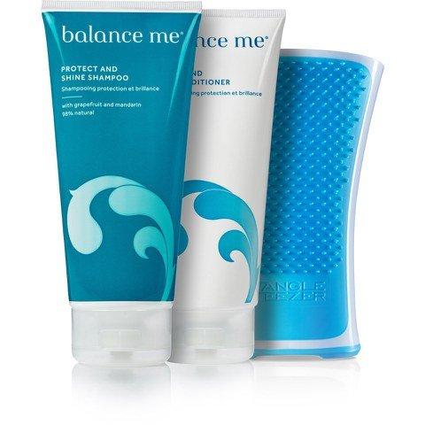 Tangle Teezer, balance me shampoo+conditioner+lotion+free gift+10% off+freepost using code @ Look Fantastic - £18.27