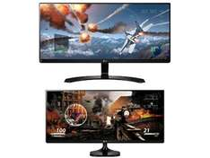 "LG 21:9 Ultrawide Monitors - 25UM58 Full HD 25"" IPS LED Monitor £144.99 / LG 29"" Ultrawide 29UM68 FreeSync enabled £239.99 @ Currys/PC World"
