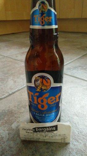 Tiger Beer 330ml @ 59p @ Home Bargains