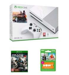 xbox one s 500 with battlefield 1 gears of war 4 £269 @ GAME
