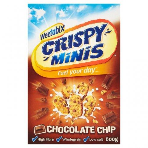 weetabix crispy minis 2 boxes x 375g  £1 heron foods