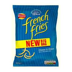 160G Cheese+Onion French Fries crisps 50p at B+M