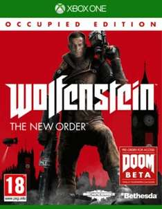 (Pre-owned XB1) Wolfenstein : The New Order £9.99 & Alien Isolation £4.99 BOGOHP @ GAME