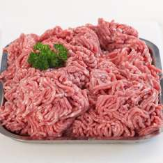 Fresh ground pork two packs of mince (8%) (500g each) was £3.19 now the two packs for £5 - premium quality cuts (Waitrose).