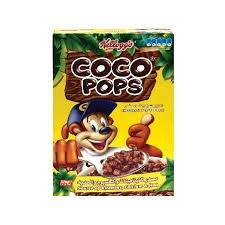 farmfoods coco pops 450g £1.19  crunchy nut 750g £1.59