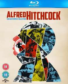 Alfred Hitchcock: The Masterpiece Collection (14 Blu Ray set) £20 in store @ Sainsburys