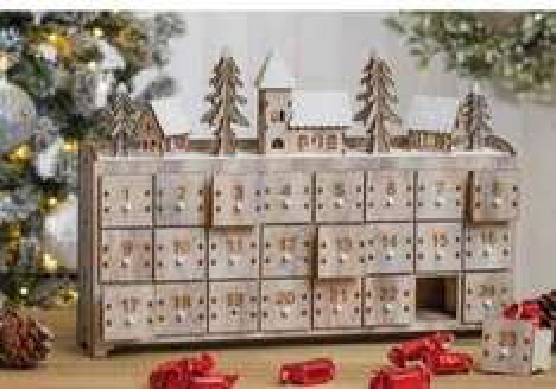 Christmas Advent display £15.99 at The Range