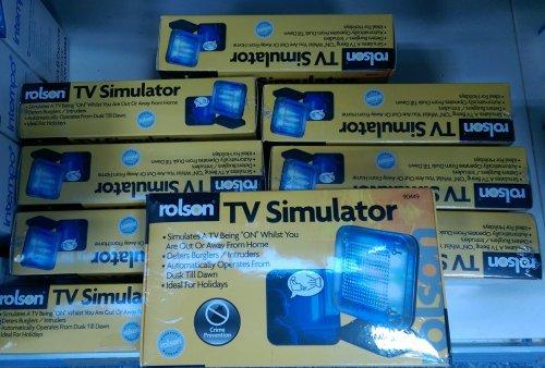 Rolson TV simulator £9.99 in store B&M store