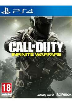 Call of Duty Infinite Warfare (incls Zombies in Space and Terminal bonus multiplayer map) on PlayStation 4 £36.85 simplygames