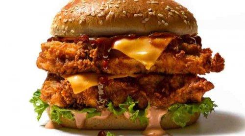 KFC Original Recipe Stacker Burger £4.99
