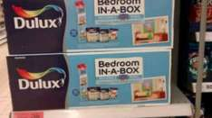 Dulux Bedroom in a Box - With Walltastic Mural - PeppaPig £20 Sainsburys Instore