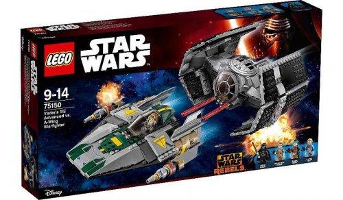 Lego 75150 Vader's TIE Advanced vs A-Wing Starfighter £64.97 at ASDA/Amazon