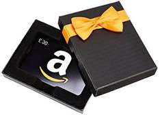 Get £7 voucher for £30 gift card spend @ amazon.co.uk