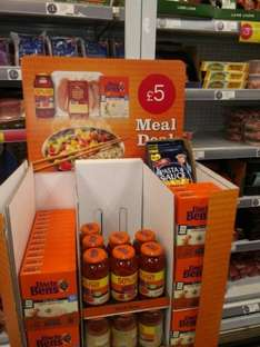 Uncle Ben rice, sauce and 500g chicken breasts  £5 Iceland