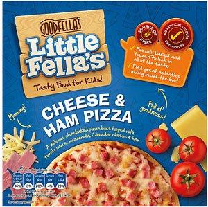 Tesco Goodfellas 'Little Fellas' Ham & Cheese pizza 50p