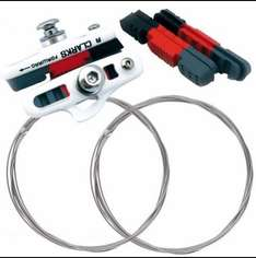 Clarks Brake Shoes, Pads + Free Gear Cables - £3.99
