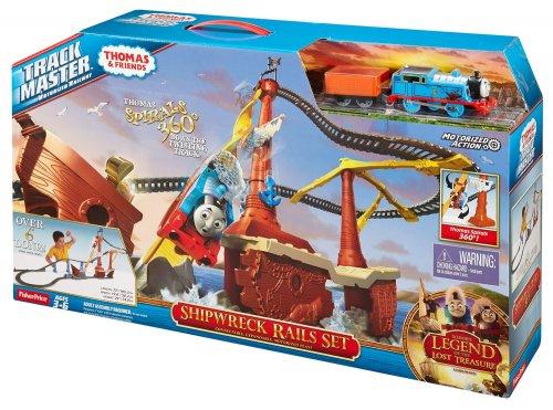 Fisher-Price Thomas & Friends TrackMaster Thomas Shipwreck Rails Set £14.24 @ Tesco - Free c&c
