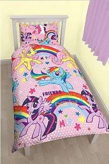 My Little Pony Duvet Set - Single Now £10 C&C at Asda George