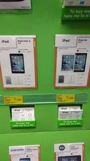 Ipad Air 16gb £190 @ Asda - Stanley