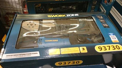 Aldi Workzone Multifunction Tool 300w £19.99