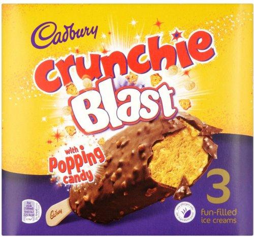 Cadbury Crunchie Blast 3 x 100ml (300ml) ONLY £1.00 @ Iceland
