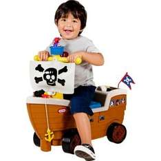 Little Tikes Play 'n' Scoot Pirate Ship Playset less than half price £24.99 C+C @ Argos