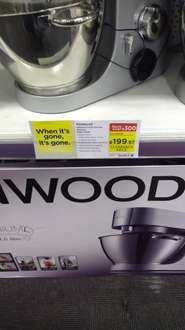 Kenwood  Chef Stand Mixer, Titanium - Silver £199.97 @ Curry's