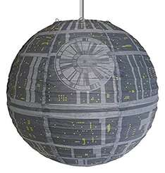 star wars death star light shade £5.40 delivered @ INTERNET GIFT STORE / Amazon
