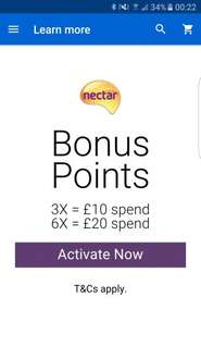 Ebay nectar bonus points for halloween