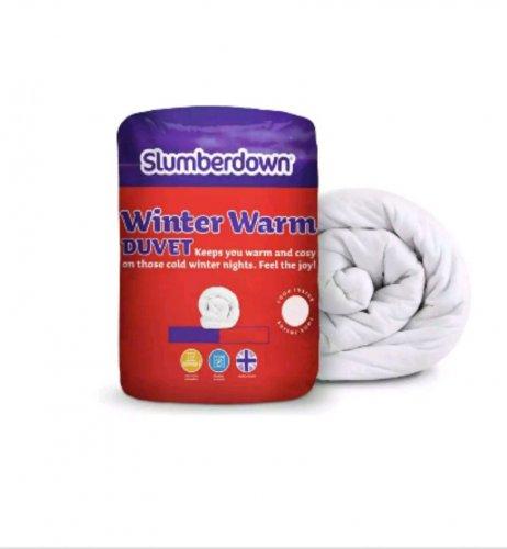 Slumberdown Winter Warmer 13.5 tog duvet single/double/king from @ Tesco