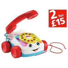 Fisher Price Chatter Phone now £4.99 in Huge upto Half Price Toy Sale @ Argos
