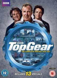 Top Gear - The Complete 13 Disc Specials Box Set [DVD] Amazon - £22.99