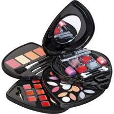 Pretty Pink Heart Shaped Cosmetic Box and Make-up Set 50% off  £6.49 @ Argos (others from £4.99 inc in comments )