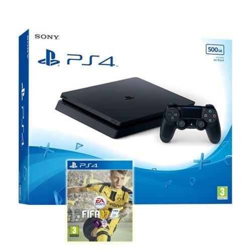 PS4 Slim 500GB Black Console + FIFA 17 @ ShopTo ebay - £249.99