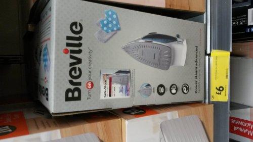 Breville iron - £6 instore @ Morrisons