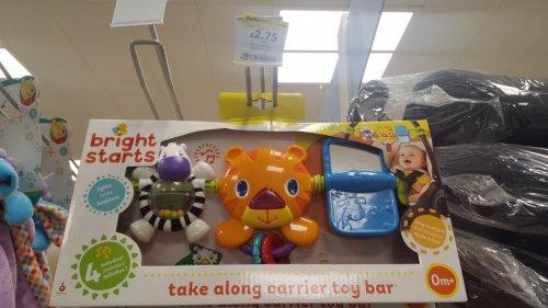 Bright Starts Take along carrier toy bar £2.75 @ Tesco