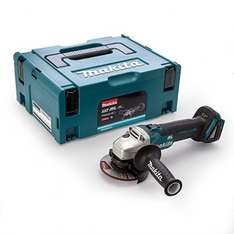 Makita DGA454ZJ1 115 mm 18 V Angle Grinder Brushless with Makpac Case (BODY ONLY) - £92 @ Amazon
