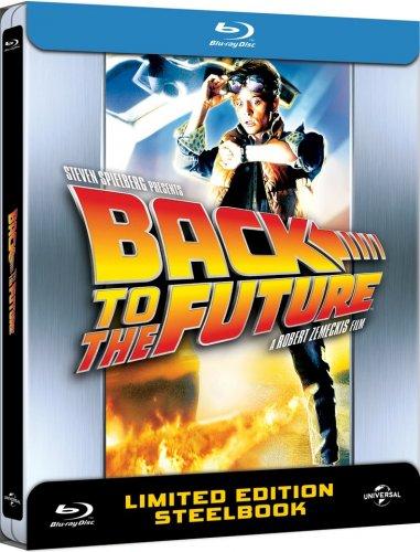 Back to the Future Blu-Ray Steelbooks £6.99 @ Zavvi