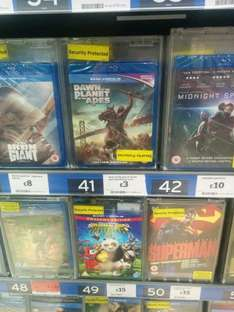 Dawn of the planet of the apes blu-ray - £3 @ Sainsbury's