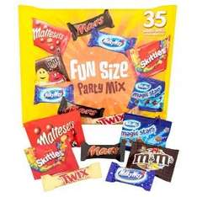 Fun Size Party Mix 600g  £3 @ Asda