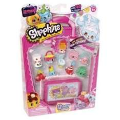 Expired Shopkins Pack of 12 Minifigures 2 for £15 At TESCO Season 4
