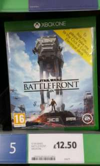 Star Wars Battlefront Xbox One £12.50 @ Tesco - Trent Vale