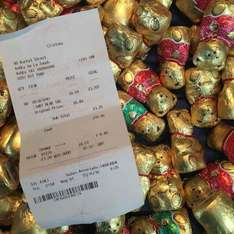 Lindt Chocolate bear 10G 4p reduced from £0.49 @ Clintons