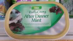 Asda After Dinner Mint Ice Cream 900l 38p