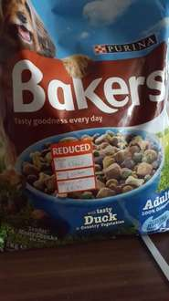 Bakers dog food 75% off £2.75 @ Pets at home instore