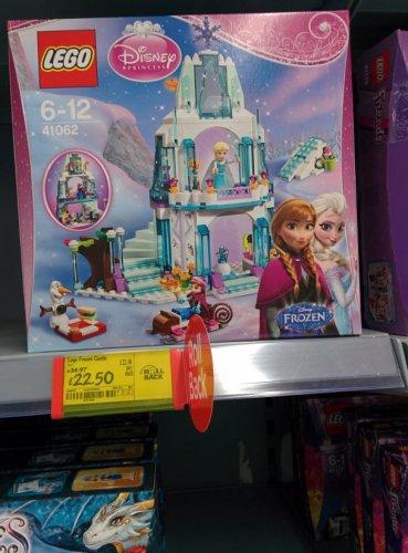 LEGO Disney Princess Elsa's Frozen Sparkling Ice Castle (41062) £22.50 instore at ASDA
